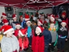 Some of the pupils of Deravoy National School, singing Christmas carols, at the function which was attended by Santa last Sunday evening. ©Rory Geary/The Northern Standard