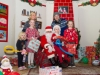 Santa with members of the Burke family, when they met with him in Carrickroe last weekend. ©Rory Geary/The Northern Standard