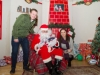 Santa pictured with Brian, Grace and Trisha Connolly, at the Carrickroe Christmas event last Sunday. ©Rory Geary/The Northern Standard