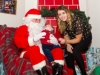 Santa meeting baby Mason Todd and Kady McKenna, at the Christmas event at Carrickroe. ©Rory Geary/The Northern Standard