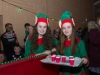 Two of Santa's elves at Carrickroe last Sunday were Sarah and Emma. ©Rory Geary/The Northern Standard