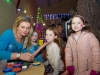 Amy Connolly, getting her face painted by Lida at the Carrickroe Christmas event, with sister Emily included on the right. ©Rory Geary/The Northern Standard
