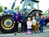 At the tractor run were (L-R) Adam, Cathal, Sarah Louise, Paudie, Darragh and Conor. ©Rory Geary/The Northern Standard