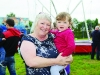 Noeleen Boylan and Ellen Murphy at the Carrickroe Welcome Home Festival. ©Rory Geary/The Northern Standard