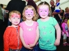 Owen, Jessica and Shona at the Carrickroe Welcome Home Festival sports day. ©Rory Geary/The Northern Standard