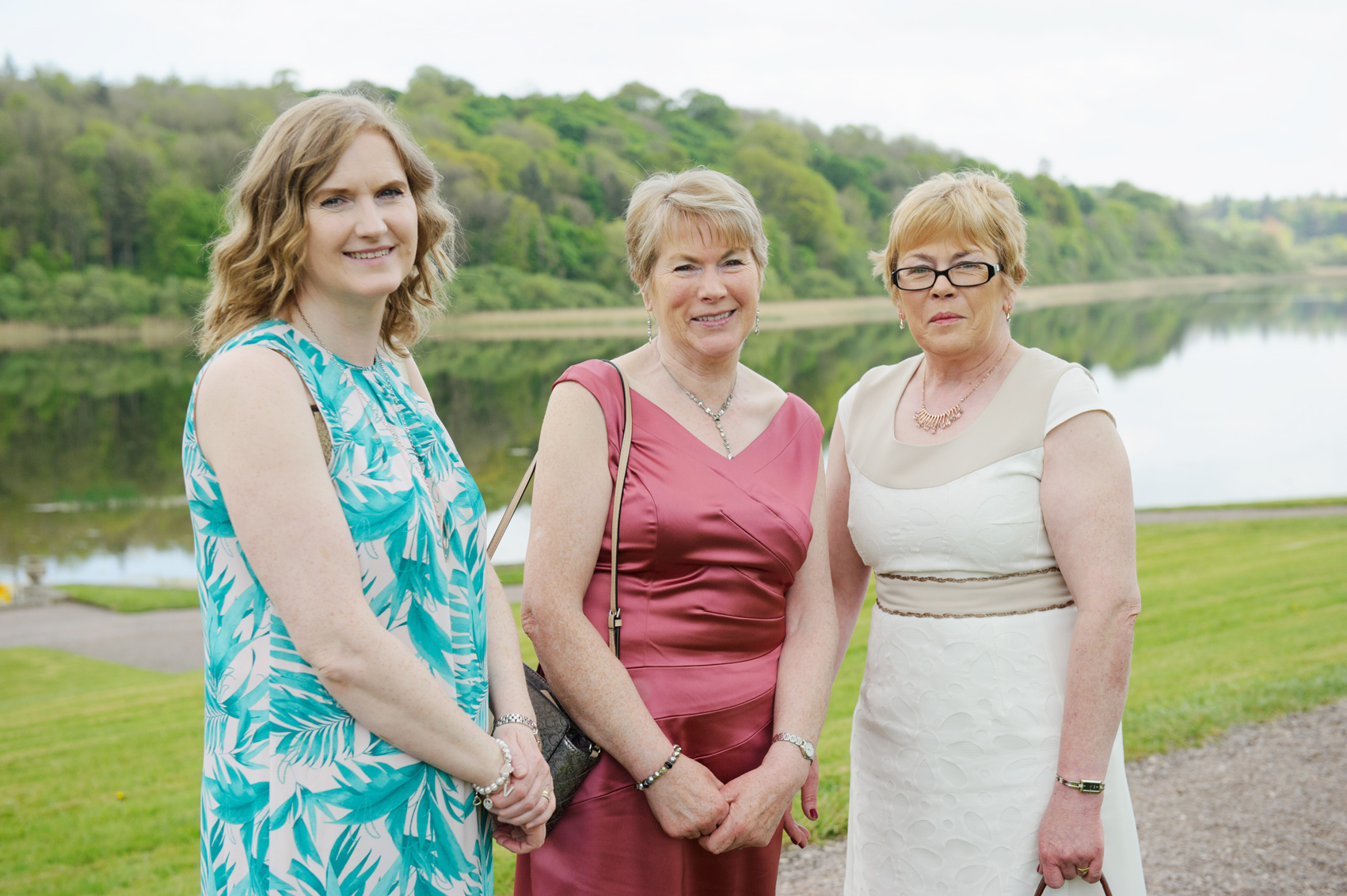 At the victorian tea party at Castle Leslie last week were (L-R) Veronica Smith, Kathleen Maguire and Ruth McMahon. ©Rory Geary/The Northern Standard