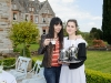 At the victorian tea party at Castle Leslie last week was Antonia Leslie with Kathy Brennan. ©Rory Geary/The Northern Standard