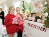 At the tea-party at Castle Leslie were Sophie Power and Leah McAree-Treanor. ©Rory Geary/The Northern Standard