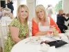 Pictured at the 25th anniversary tea-party at Castle Leslie was Claire O'Neill and Sharon McKeever. ©Rory Geary/The Northern Standard