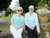 Ann McGee and May Treacey at the tea-party at Castle Leslie. ©Rory Geary/The Northern Standard