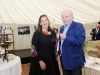 Ronnie Wilson with Sammy Leslie at the victorian tea-party at Castle Leslie, to celebrate 25 years of the tea-rooms at the castle. ©Rory Geary/The Northern Standard