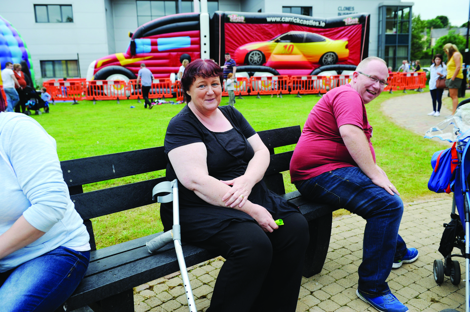 Ann McGlone at the Clones Canal Festival family day. ©Rory Geary/The Northern Standard