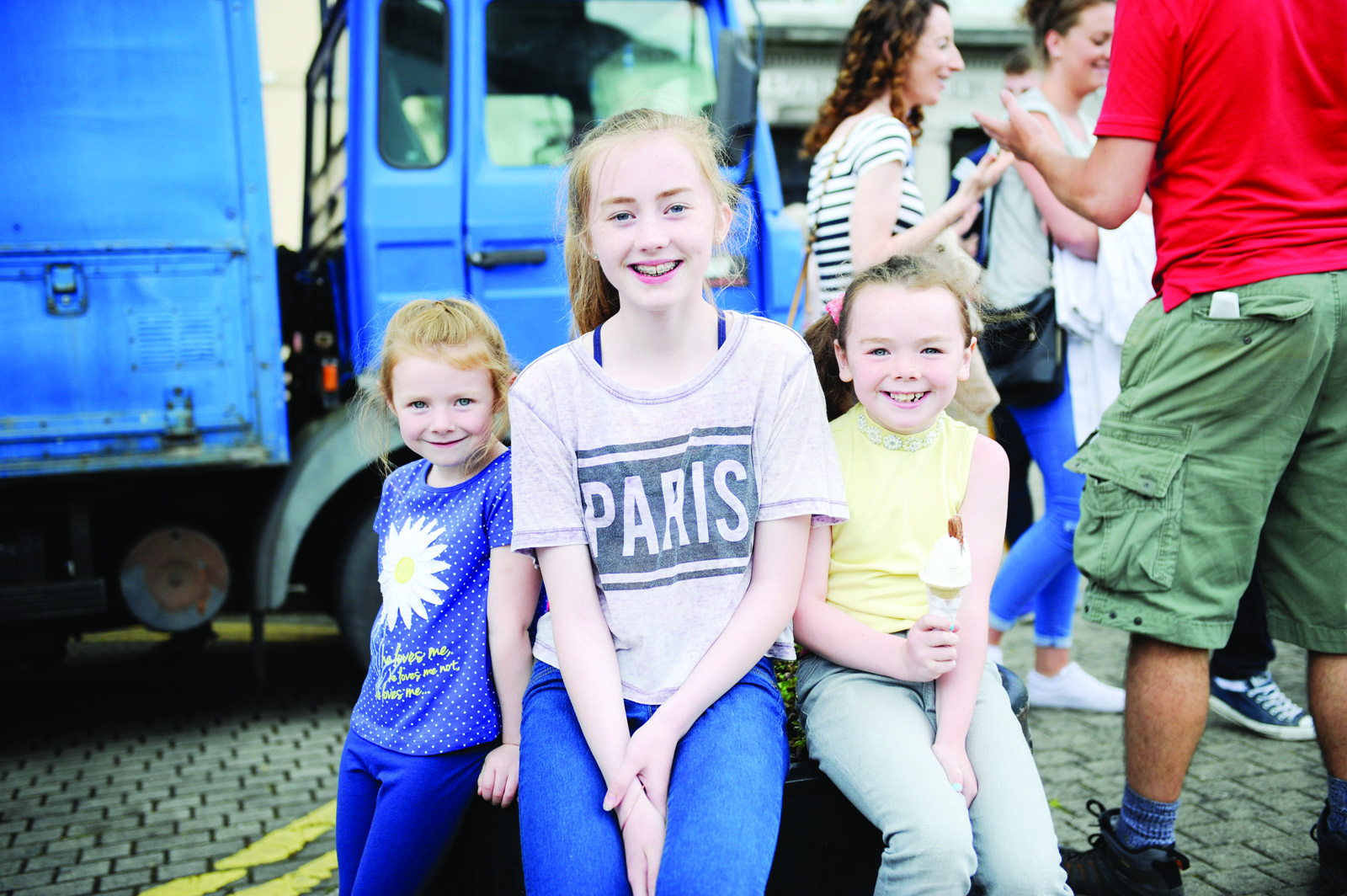 Pictured at Clones Canal Festival were Liala, Ava and Alisha Crudden. ©Rory Geary/The Northern Standard