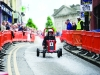 Shane McPhillips in his soapbox Hit The Diff, at the Clones Canal Festival. ©Rory Geary/The Northern Standard