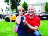 Amelia and Nevill Patterson at the Clones Canal Festival. ©Rory Geary/The Northern Standard