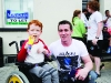 James and Shane McCaffrey at the Clones Canal Festival. ©Rory Geary/The Northern Standard