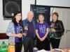 Pictured at the opening night of the Clones Film Festival were (L-R) Paula McQuillian, Brian Adamson, Adamson's Bar, Siobhan Sheerin and Ann Adamson. ©Rory Geary/The Northern Standard