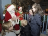 Santa speaking with some of the children that met him, when he visited Clones with support from Supervalu Clones. ©Rory Geary/The Northern Standard