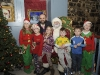Some of the Dunwoody family and friends with Santa when he visited Clones with help from Supervalu, Clones. ©Rory Geary/The Northern Standard