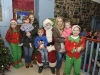 Santa with some of the McDonald family at The Creighton Hotel, last weekend. ©Rory Geary/The Northern Standard