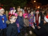 Some of the members of the Clones Theatre School, singing at the switch-on of the Clones Town Christmas lights last Saturday evening. ©Rory Geary/The Northern Standard