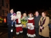 At the switch-on of the Clones Town Christmas lights were (L-R) Cllr Sean Gilliland and Grace, Santa Claus, Michelle Reinhart-McCabe, who switched on the lights, Mrs Claus, Cllr Pat Treanor and Eileen McManus, Ballybay Clones Municipal District. ©Rory Geary/The Northern Standard
