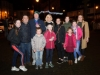 Dooda McGorman with some of his family and friend at the switch-on of the Clones Town Christmas lights last Saturday evening. ©Rory Geary/The Northern Standard
