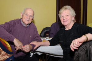 At the Clontibret Social Club Christmas Party were Pat and Rose Markey. ©Rory Geary/The Northern Standard
