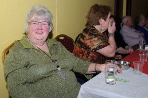 Ann McGarrell from Co Down at the recent Clontibret Social Club Christmas Party. ©Rory Geary/The Northern Standard