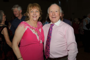 Pat and Vera Conlon at the Clontibret Social Club Christmas Party in the Contibret Community Centre. ©Rory Geary/The Northern Standard