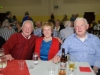 At the Clontibret Social Club Christmas Party were (L-R) Vinnie Loughran, Joan Maxwell and Benny Moen. ©Rory Geary/The Northern Standard