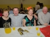 At the Clontibret Social Club Christmas Party were (L-R) Kathleen, Mick, Josie and Brian. ©Rory Geary/The Northern Standard