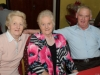 At the Clontibret Social Club Christmas Party in the Clontibret Community Centre were (L-R) Florence Turbitt, Matilda and Tomas Hall. ©Rory Geary/The Northern Standard