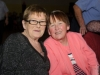 Julia McBennett and Margaret Daly at the Clontibret Social Club Christmas Party. ©Rory Geary/The Northern Standard