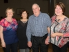 Pictured at the Clontibret Social Club Christmas Party were (L-R) Carol, Margarette, Jimmy McGuigan and Irene. ©Rory Geary/The Northern Standard