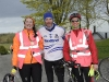 At the Cycle Against Suicide were (L-R) Sorcha McKenna, Greg Duffy and Gordon Spilliane. ©Rory Geary/The Northern Standard