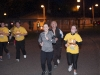Two of the runners approaching the finishline of the Monaghan Darkness Into Light 5k. ©Rory Geary/The Northern Standard