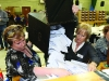 Ballot boxes being emptied on Saturday morning at the Cavan-Monaghan Count Centre.  Pic.  Pat Byrne.