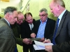 Checking the tallys at the Cavan-Monaghan Count Centre on Saturday last.  Pic.  Pat Byrne.