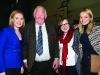 Former Fine Gael TD Seymour Crawford with (L-R) Eva Humphreys, Tara Humphreys and Ciara McPhillips at the Cavan-Monaghan Count Centre on Saturday evening last.  Pic.  Pat Byrne.