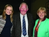Former Fine Gael TD Seymour Crawford with re-elected TD Heather Humphreys and Councillor Ciara McPhillips at the Cavan-Monaghan Count Centre on Saturday evening last.  Pic.  Pat Byrne.
