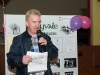 Chairman of the Emyvale Tidy Town's speaking at their 50th anniversary celebrations which were held in the Emyvale Leisure Centre, last Sunday. ©Rory Geary/The Northern Standard
