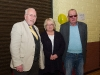 Pictured at the Emyvale Tidy Town's 50th anniversary celebrations were (L-R) Seamus Keenan with Mona and John McQuillian. ©Rory Geary/The Northern Standard