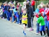 David Duffy, Glaslough Harriers, who was the winner of the Boys U-12 800m race. ©Rory Geary/The Northern Standard