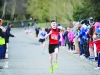Oran Hamilton from 3Ways AC, who was the winner of the Boys U-14 1000m race. ©Rory Geary/The Northern Standard