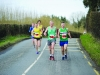 Tony Ward and Alo Grew, right, during the Glaslough Harriers 5k last Sunday. ©Rory Geary/The Northern Standard