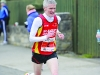 Chairman of the Monaghan County Athletics Board, Alan Clarke, finishing the Glaslough Harriers 5k. ©Rory Geary/The Northern Standard