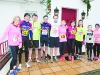 Members of the Murray Family who all participated in the Glaslough Harriers Jolly Joggers Run on New Years Day in Emyvale. ©Rory Geary/The Northern Standard