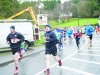 JP McMahon taking part in the Glaslough Harriers Jolly Joggers Run on New Years Day. ©Rory Geary/The Northern Standard