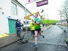 Conor Maguire crossing the line to win the 6k race. ©Rory Geary/The Northern Standard